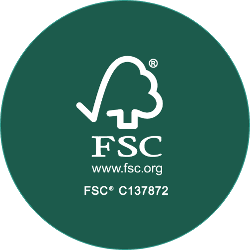 Participação e certificação FSC®  (FOREST STEWARDSHIP COUNCIL®).